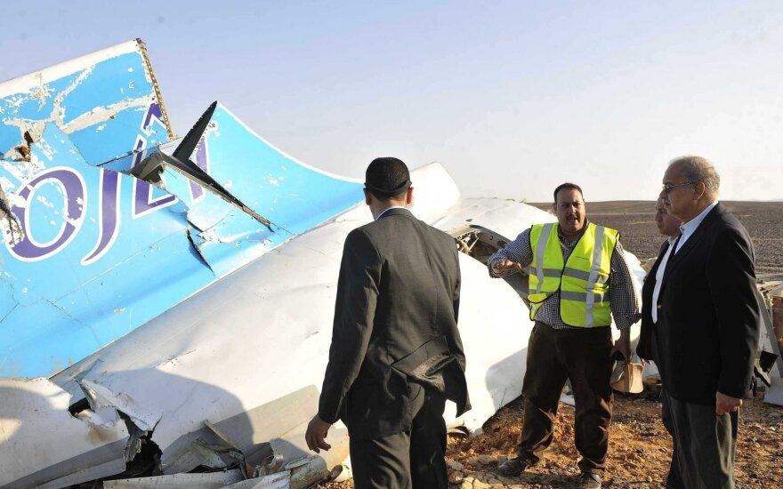 Rusijos lėktuvo katastrofos vieta