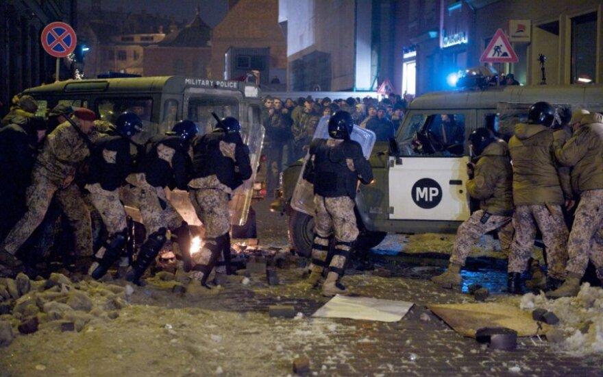 Polacy winni zamieszek ulicznych na Łotwie