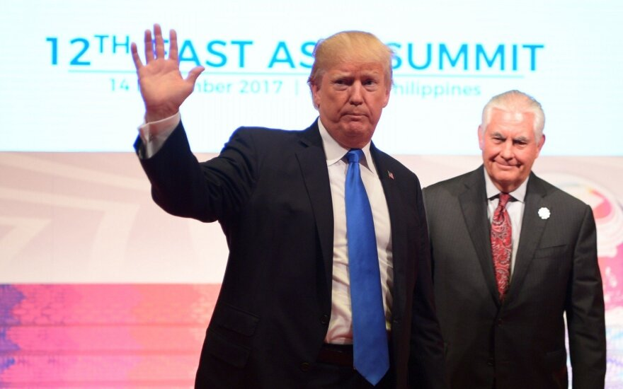 Donaldas Trumpas, Rexas Tillersonas