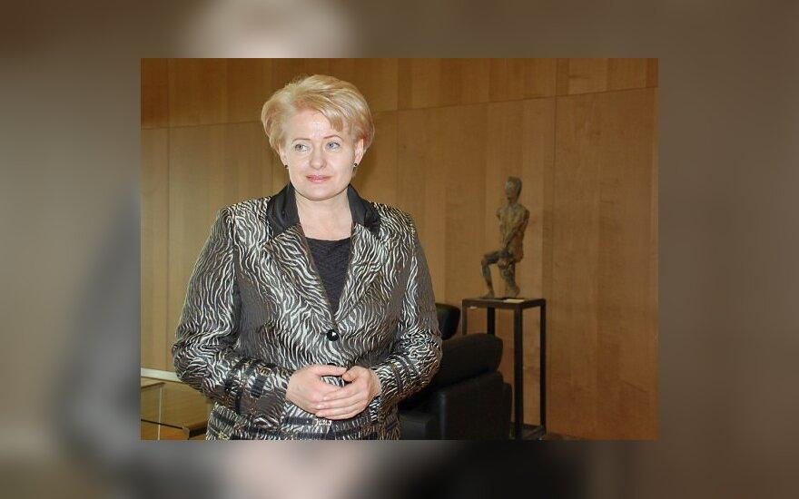 З.Вайшвила выясняет, является ли Д.Грибаускайте литовкой