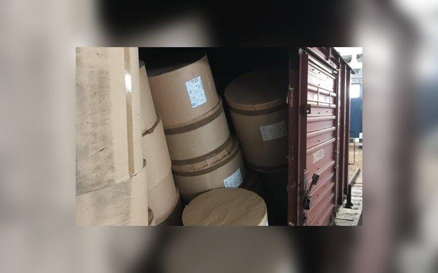 Таможенники в поезде задержали полумиллионную контрабанду