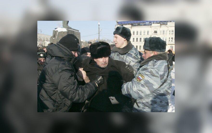 Rusijos milicija sulaiko Eduardą Limonovą
