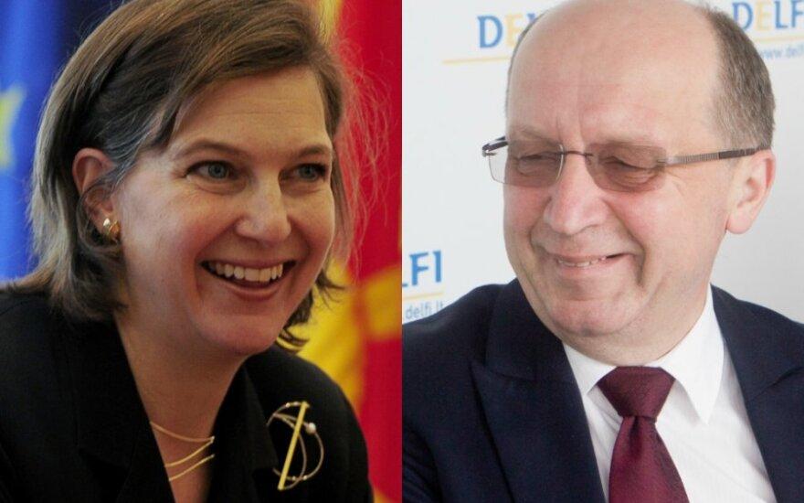 Слова Нуланд в отношении ЕС придают Кубилюсу оптимизма