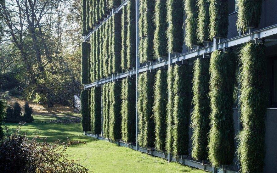 В Литве появилось первое здание-растение