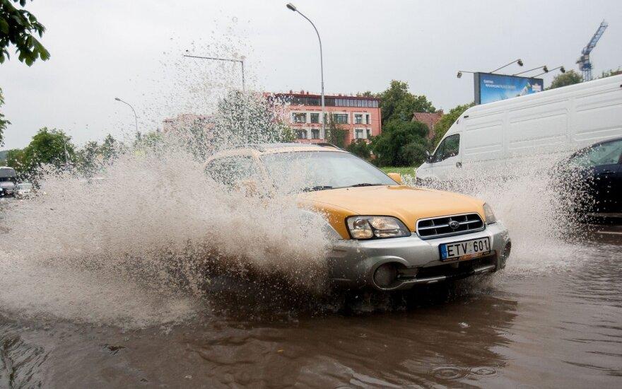 В Литве прогнозируют сильные дожди