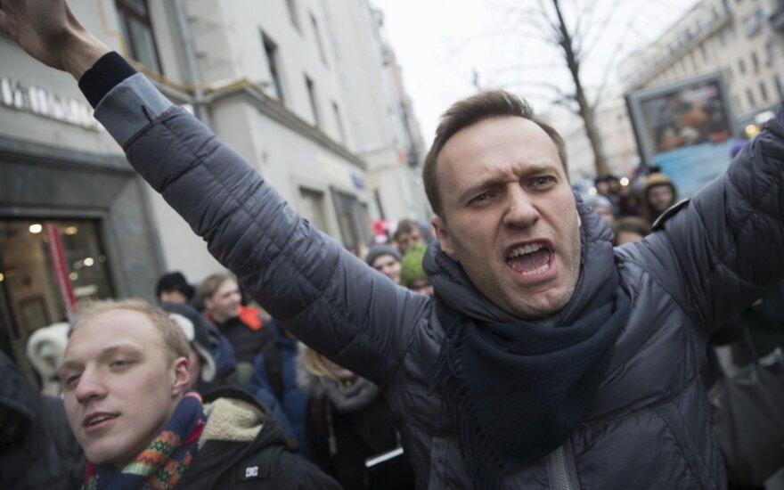 Навального арестовали на 30 суток за акцию 5 мая в Москве