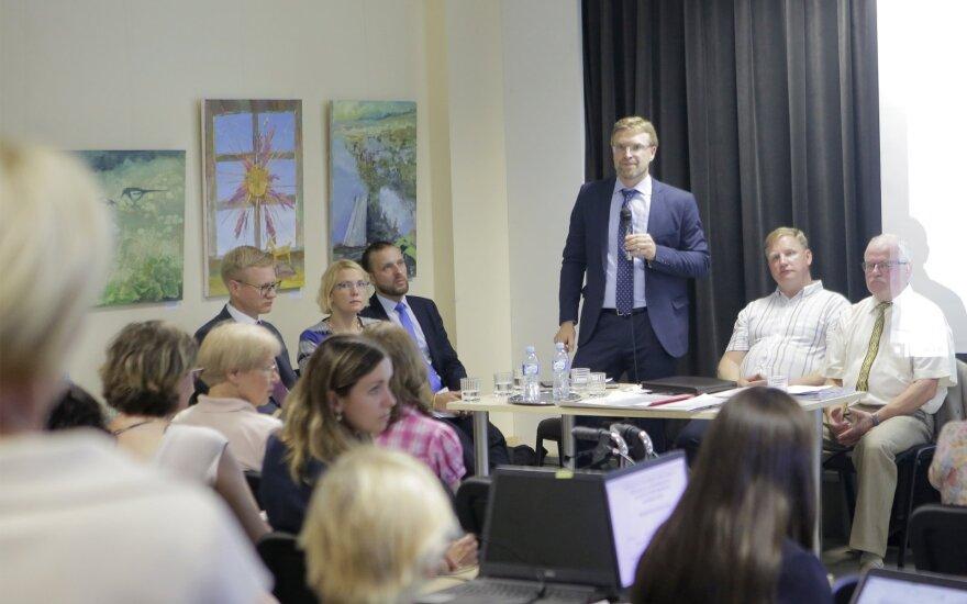Socialinės apsaugos ir darbo ministro susitikimas su žiežmariečiais
