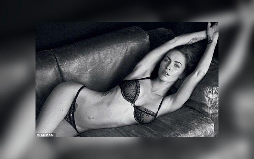 Megan Fox                  armani.com nuotr.
