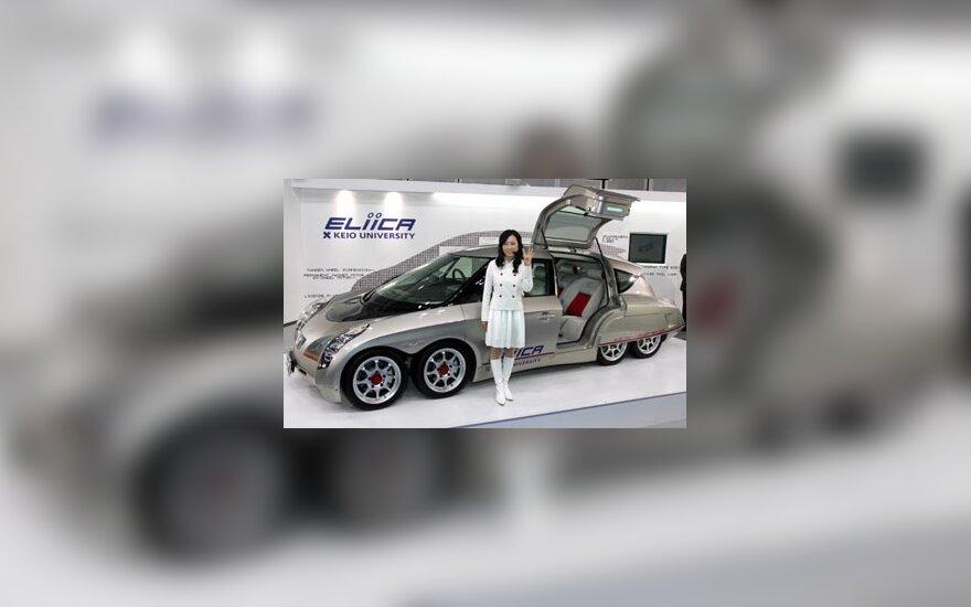 """Eksperimentinis elektromobilio prototipas """"Eliica"""""""
