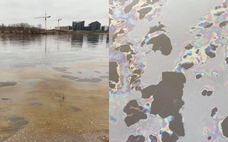 В Каунасе в Нерис попали загрязнения