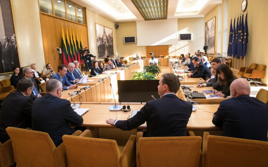 По инициативе оппозиции созывается заседание Сейма для оценки правящих