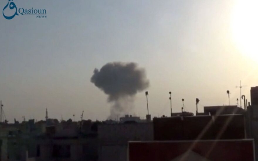 Минобороны России обещает усилить авиаудары в Сирии