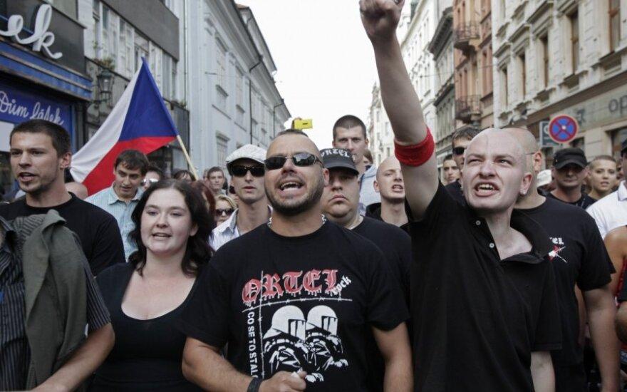 Antyromski marsz w Czechach zakończył się bójkami i aresztowaniami