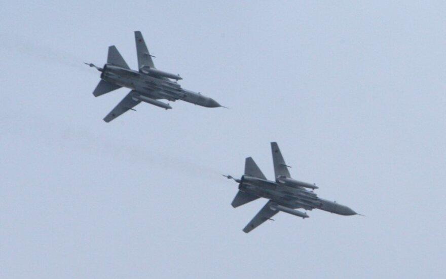 Kolejne rosyjskie samoloty wojskowe przy litewskiej granicy