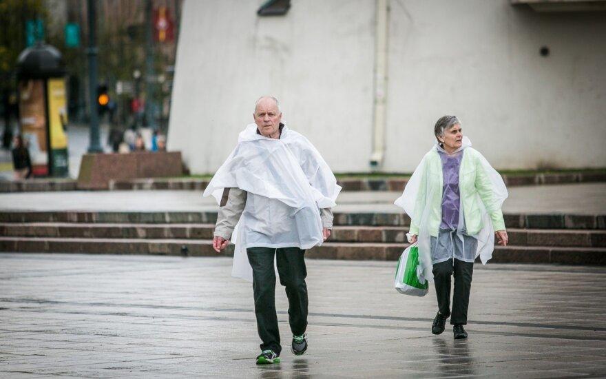 Выходные в Литве будут теплыми и дождливыми