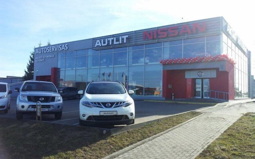 Nissan salonas Šiauliuose