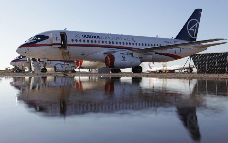 """Суперджету """"Аэрофлота"""" пришлось прервать взлет в Ульяновске"""