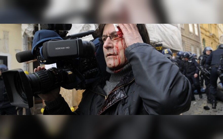 В Хорватии - протесты с требованием отставки правительства