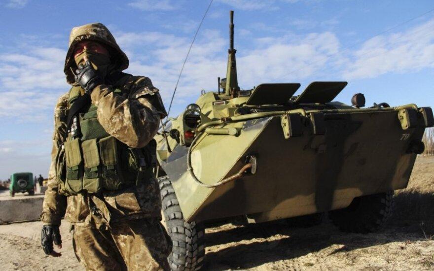 В Крыму убит украинский военнослужащий