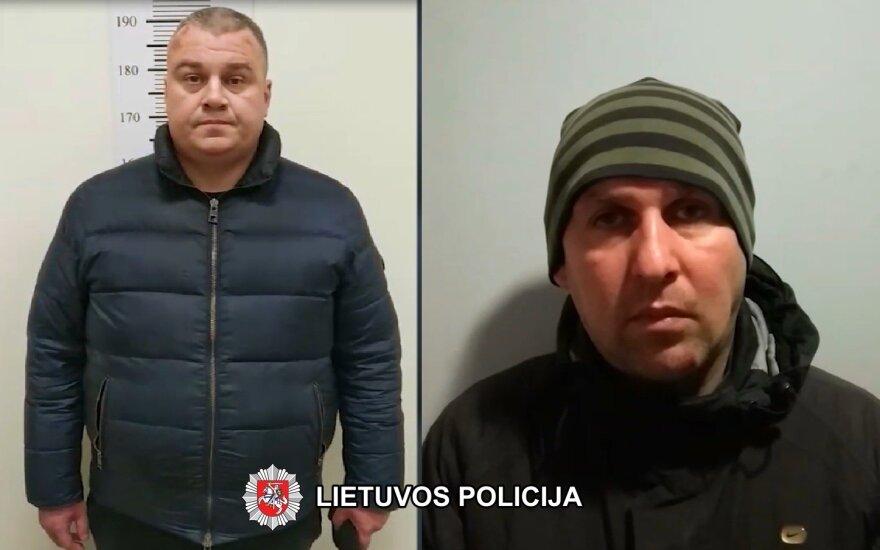 Вильнюсская полиция за кражи из автомобилей задержала двоих белорусов
