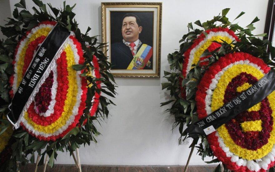Atsisveikinimas su Hugo Chavezu