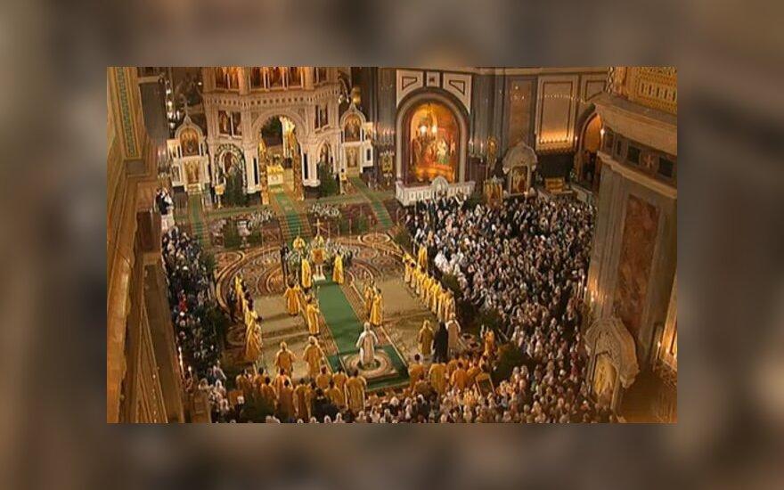 Москва: в рождественских богослужениях приняли участие 220 000 человек