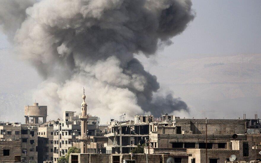 """CIT назвала имена четырех погибших в Сирии бойцов """"ЧВК Вагнера"""" от удара коалиции США"""