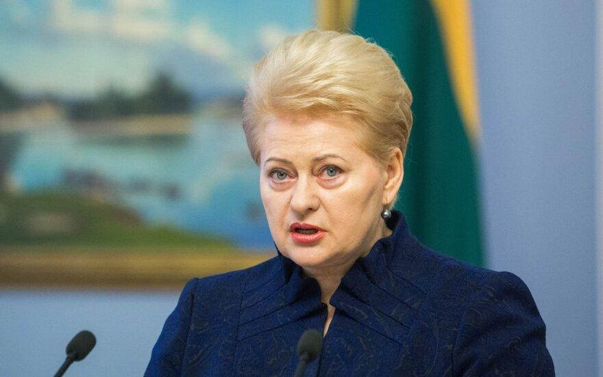Президент Литвы: правящие пытаются отвлечь внимание от проблем