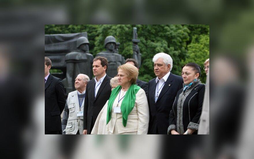Российским соотечественникам Литвы пообещали, что Россия их не забудет