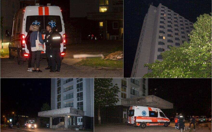 В Вильнюсе погибла выпавшая с балкона студенческого общежития девушка