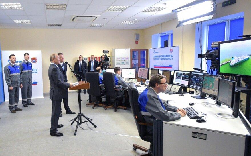 Dujų tranzitas per Lietuvą į Kaliningrado sritį nutraukiamas