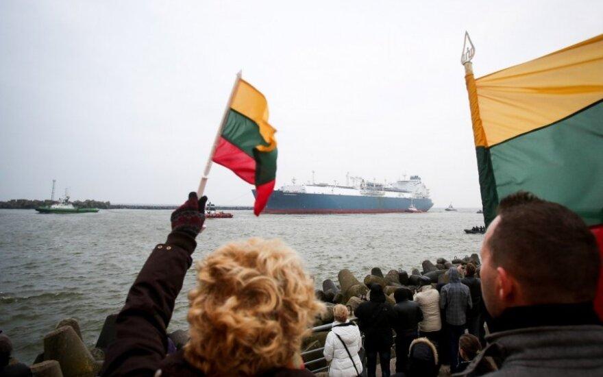 В Клайпеду вошло судно-хранилище Independence