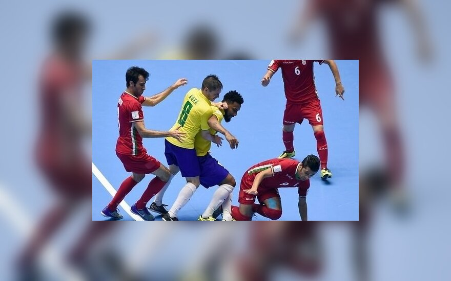 Бразилия и Италия сенсационно вылетели с чемпионата мира по футзалу