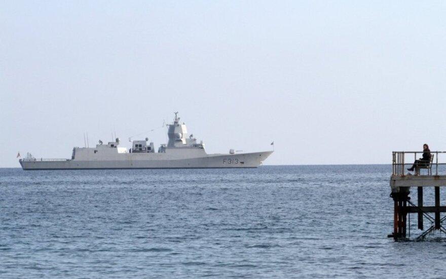 В Норвегии возвращавшийся с учений НАТО фрегат столкнулся с танкером