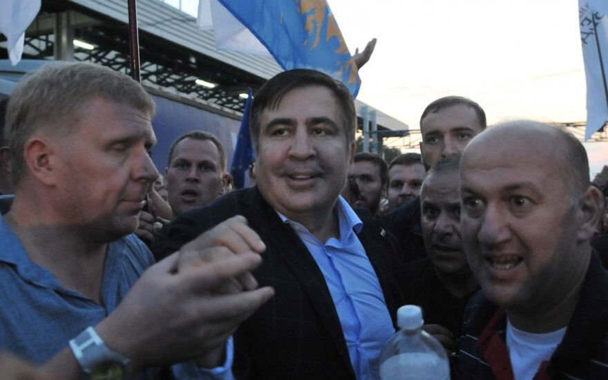 В Украине задержали пятерых сторонников Саакашвили за прорыв на польской границе