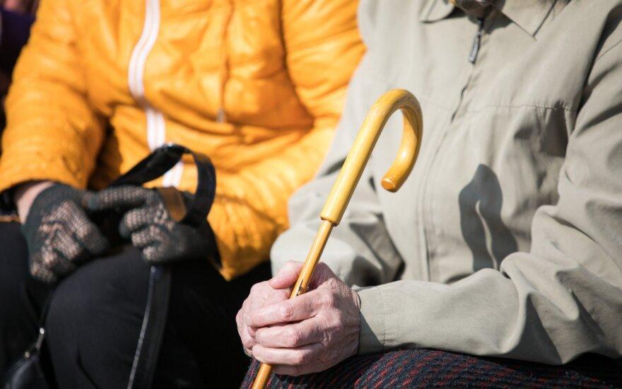 Представитель пенсионеров: в Литве государство благосостояния создано, но для 15% жителей