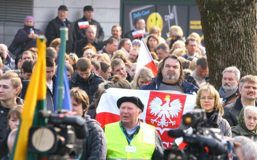 Žemaitytė: Jeśli chcecie, żeby Polacy na Litwie się rozwijali, to zabrońcie ich język