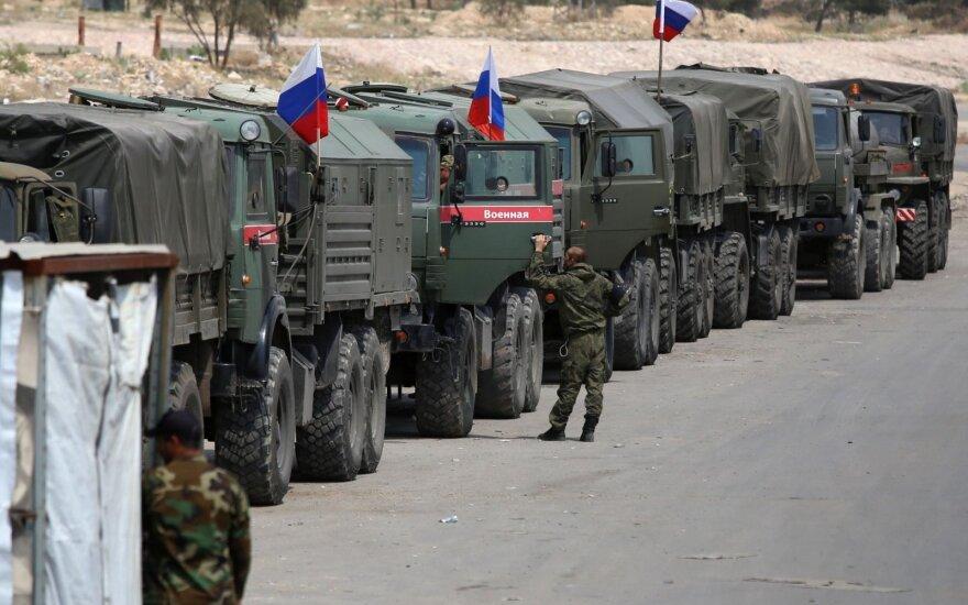 Путин отчитался о выводе из Сирии 1 тыс. военных за последние дни