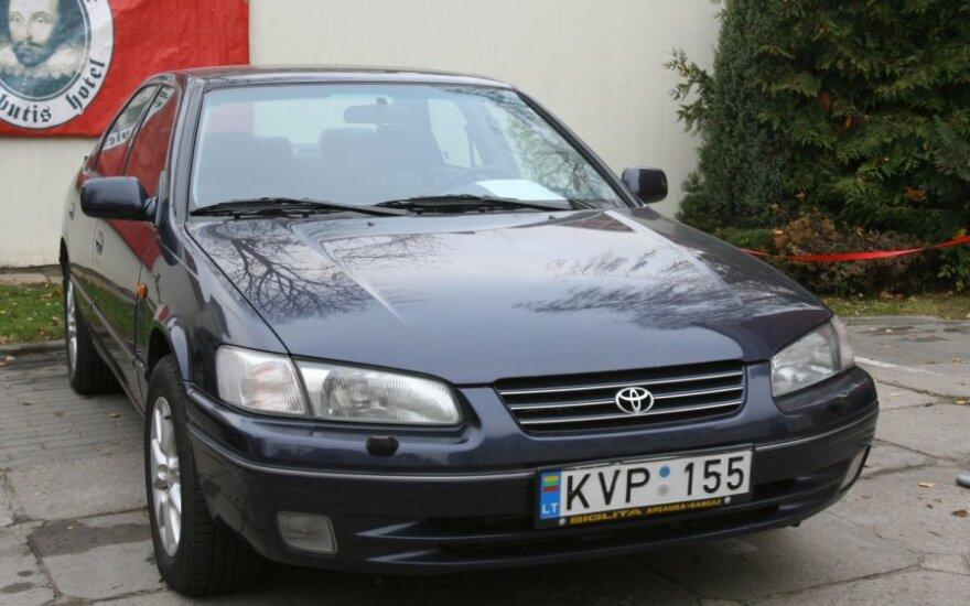 Автомобиль Бразаускаса продан за 23 050 литов