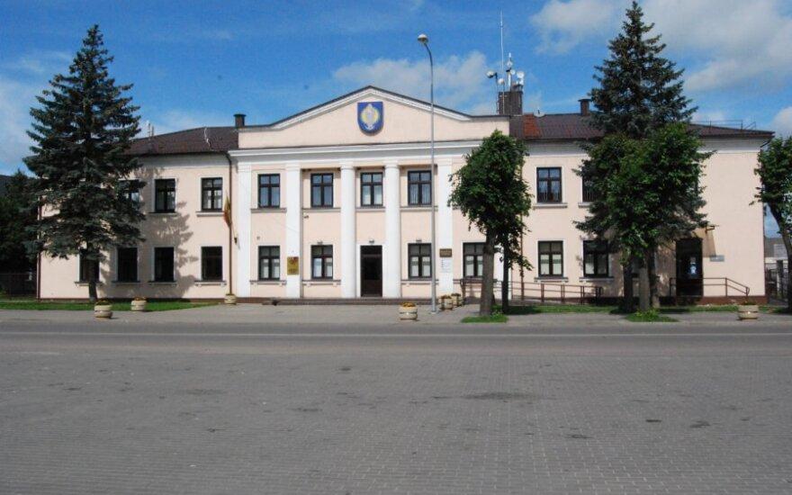 Budynek starostwa w Ejszyszkach