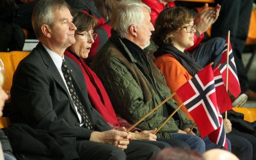 Rankinis. Lietuva - Norvegija