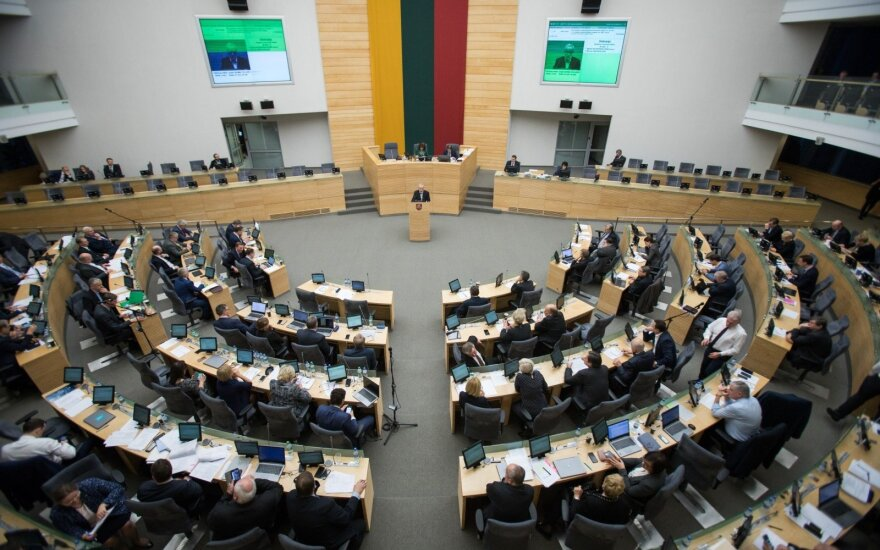 At the Seimas