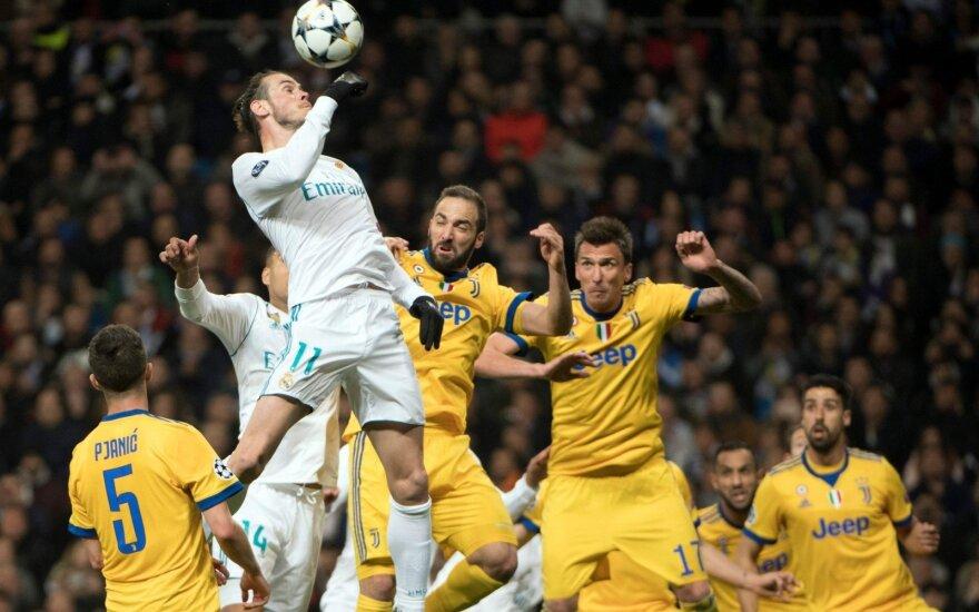 """Čempionų lygos ketvirtfinalis: """"Real"""" – """"Juventus"""""""