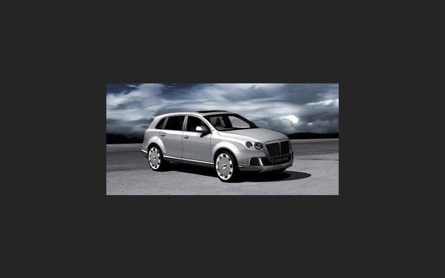 Русские и немцы превратили Audi Q7 во внедорожник Bentley