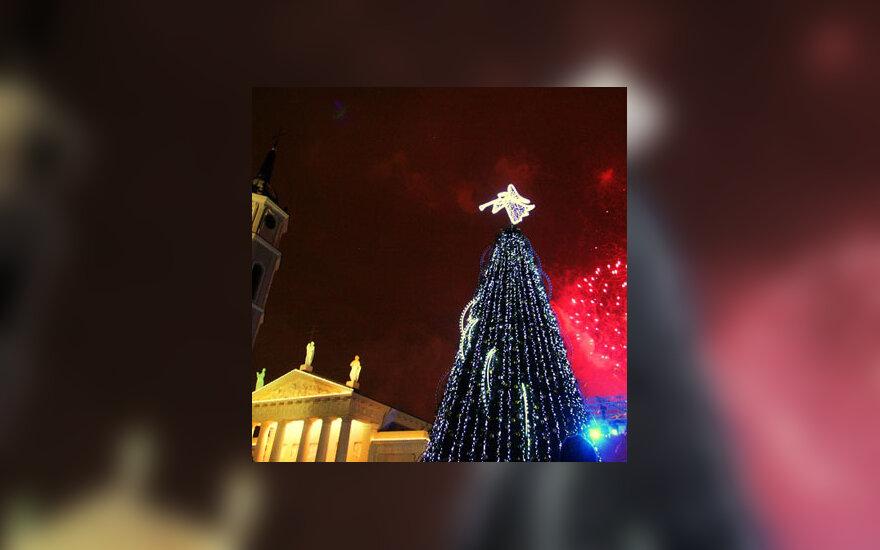 Kalėdų eglė Vilniuje