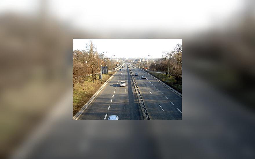 Greitkelis Varšuvoje