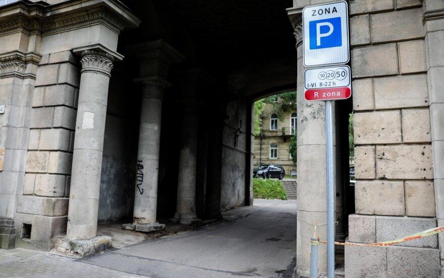 A. Goštauto gatvės kiemas