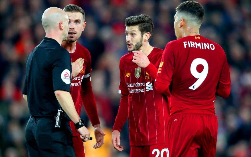 Liverpool futbolininkai pasiekė eilinę pergalę