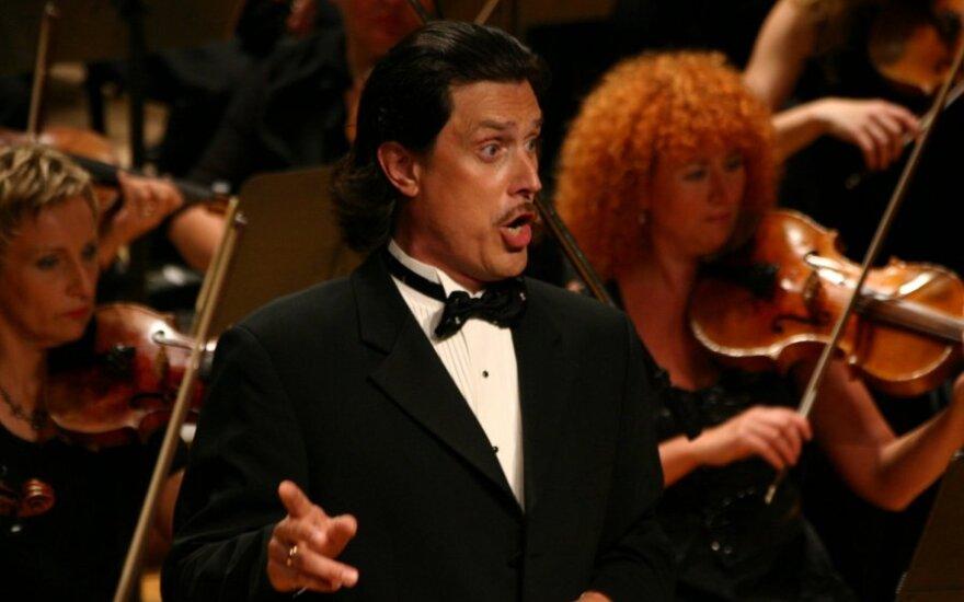 Оперный солист Юозапайтис собрался в Сейм по списку консерваторов