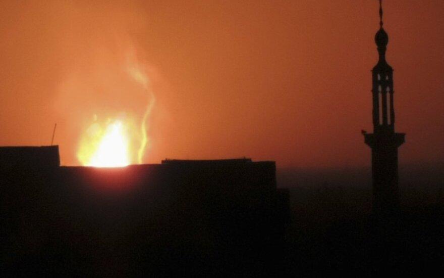 Дамаск обесточен после взрыва газопровода